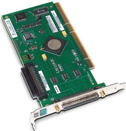 HP 403051-001 1-Port 64Bit 133Mhz Ultra320 SCSI Host Bus Adapter