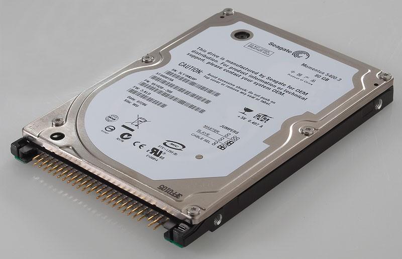 Seagate Momentus ST980815A 80GB 5400RPM IDE ULTRA ATA100 25