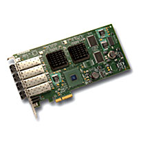 LSI LSI00149 LSI7404EP-LC PCIe 4GB 4 Channel FC Host Bus Adapter