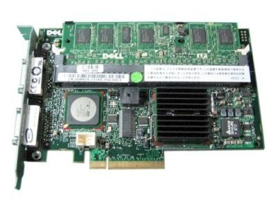 DELL XM768 PERC 5/E SAS Raid Controller Card With 256MB Cache