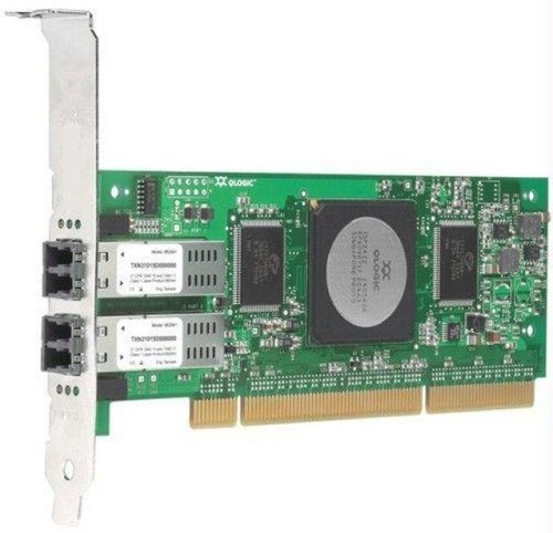 QLogic QLA2462-E SANblade 4GB 2 Channel 266MHz PCI-X Host Bus Adapter