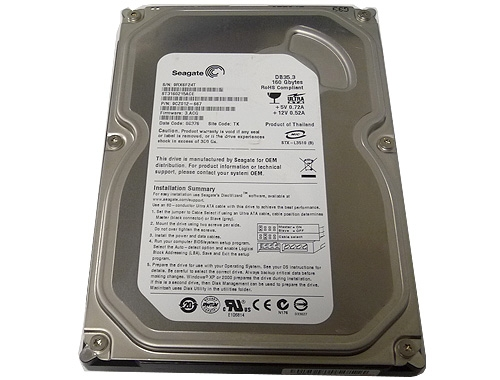 Seagate DB35.3 ST3160215ACE 160GB 7200RPM IDE Ultra ATA100 3.5