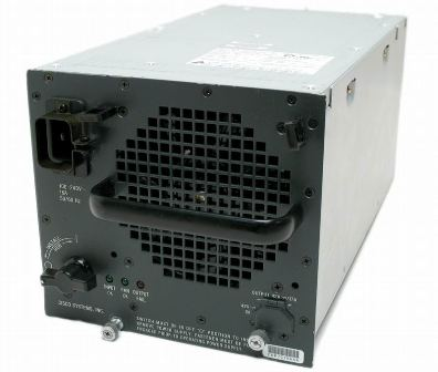 Cisco WS-CAC-6000W Catalyst 6500 6000 Watt AC Power Supply