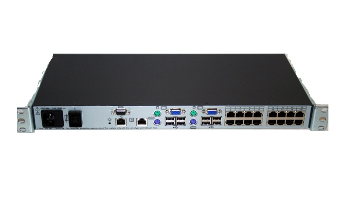 CONSOLE SWITCH NETWORKING 16 PORT