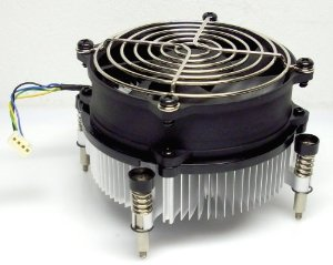 HP 593217-001 Fan HeatSink Assembly for Elite 8000 Z200  Minitower