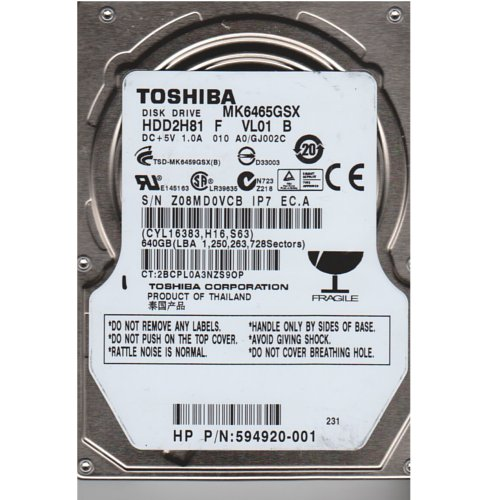 DRIVERS FOR TOSHIBA HDD2H81