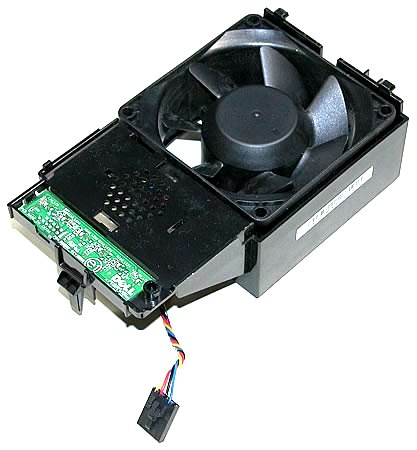 Dell G958P CPU Fan Shroud Assembly for OptiPlex 755 760