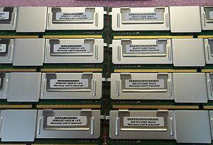 64GB KIT 8X8GB MEMORY  FOR  HP ProLiant   BL480C