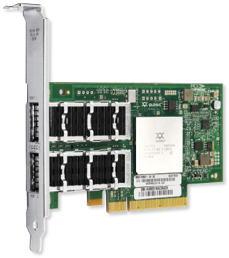 QLogic QLE7342 InfiniBand 40Gb QDR Dual Port Host Channel Adapter