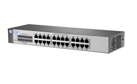 Groovy HP J9663A 24-Ports Unmanaged 1410-24 Switch FV41