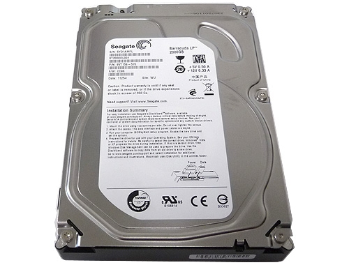 Seagate Barracuda ST2000DL001 2TB 5900RPM 32MB SATA 3Gb/s 3.5