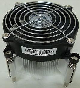 HP 625257-001 Processor Fan Heatsink Assembly for Z210 Workstation