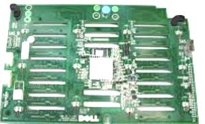 Dell VNMGT 16 Bay 2.5-inch Backplane Board for Poweredge T710
