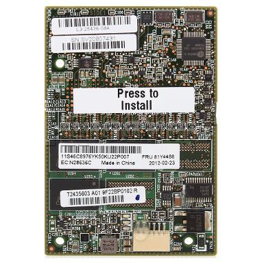 SERVERAID 81Y4487-02 ServeRAID M5100 Series 512MB Flash//RAID 5 Upgrade for IBM System