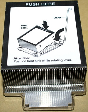 IBM 94Y6618 95W Heatsink for System X3650 M4