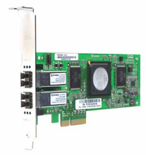Dell 341-9094 4GB Dual Port PCI Express FC Host Bus Adapter
