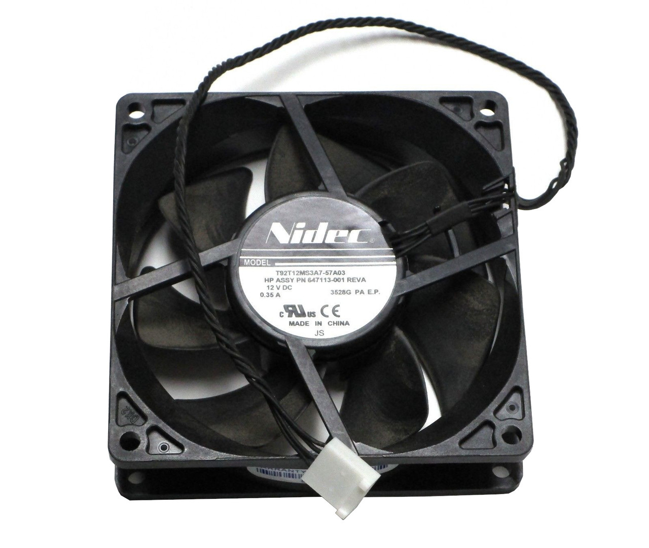 HP 684025-001 Front System Fan Assembly for Workstation Z820