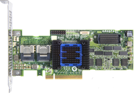 Adaptec 2272800-R 8-Internal Port PCIe RAID Controller w/512MB Cache