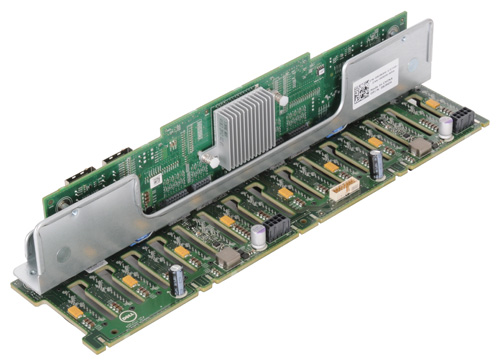 Dell 8JR0H 16x2.5 HDD Backplane Board SFF for POWEREDGE R720