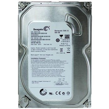 "Seagate Barracuda 500 GB 3.5/"" Internal Hard Drive"