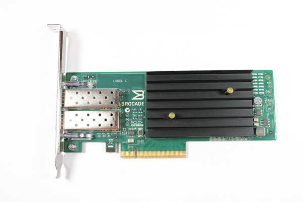 DELL T42N7 Brocade 1020 10GB Dual Port PCI-E 2.0 X8 CNA Adapter.