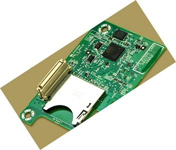 Dell 41C3F Remote Access Card DRAC Riser Card for PowerEdge