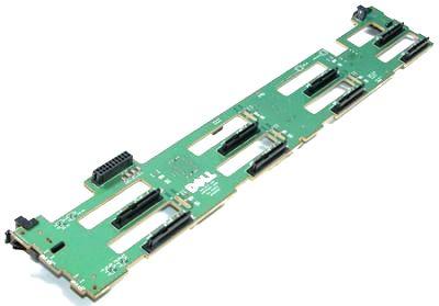 "Dell D109N 6x 2.5/"" SAS Hard Drive Server Backplane for PowerEdge R610"