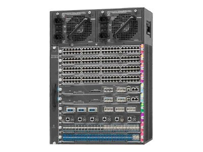 Cisco WS-C4510R+E Catalyst 4500E-Series 10 slot Chassis for 48Gbp Ref
