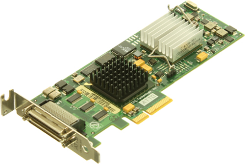 HP AH627B Dual Channel PCI Express Ultra320e SCSI Host Bus Adapter