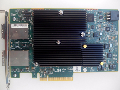 LSI LSI00342 PCIe 3.0 x8 16 Port 12GB SAS Host Bus Adapter