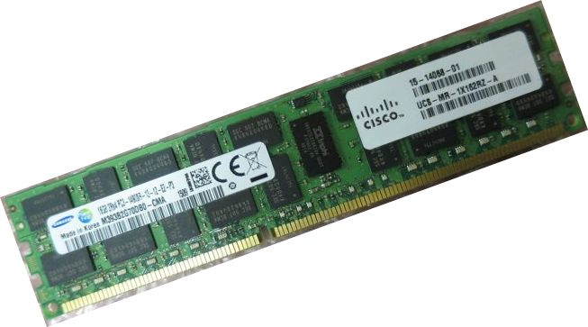 Samsung 1x16GB 2Rx4 PC3-14900R DDR3-1866MHz ECC Reg Server Memory Dell HP