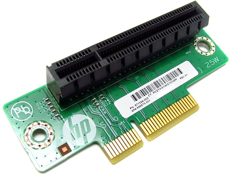 HP 671324-001 x8 PCIe Half-height Riser for Proliant Dl320e g8