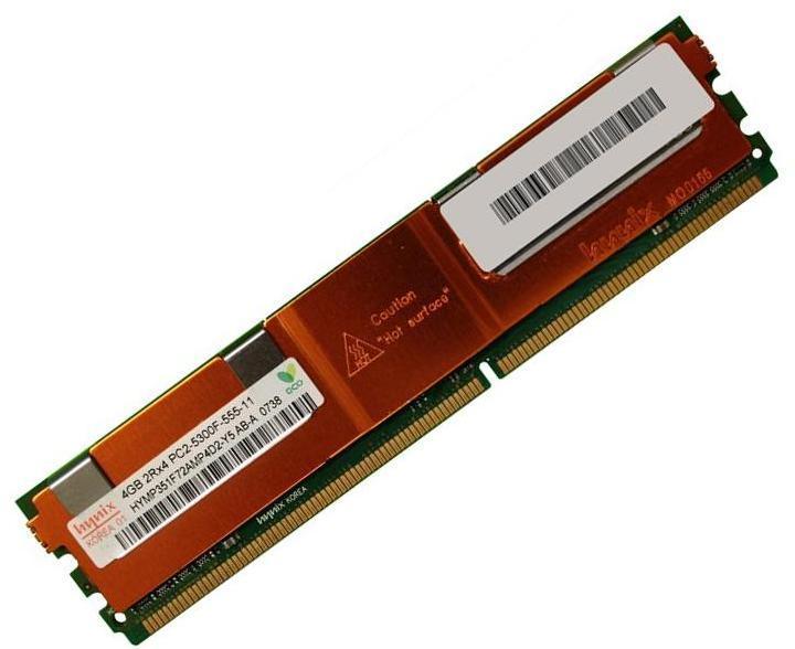 Hynix HYMP151P72CP4-Y5 DDR2 4GB PC2-5300 Reg ECC 667Mhz 2Rx4 RAM Memory
