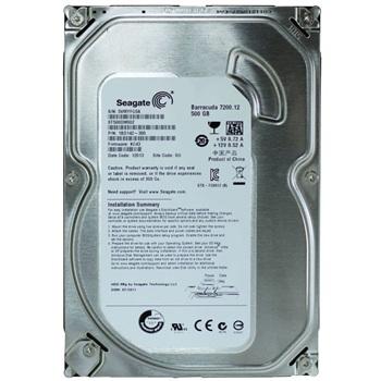 Seagate Barracuda ST500DM002 500 GB 3.5 Internal HD-SATA-7200 rpm-16 MB Buffer