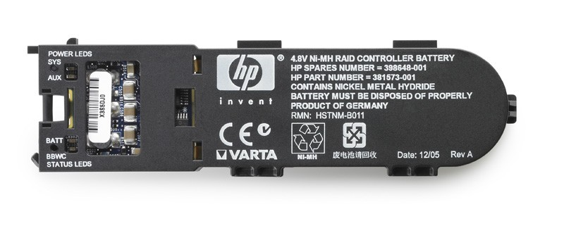 HP HSTNM-B011 4.8V 5000mAh Ni-MH Smart Array Controller Battery