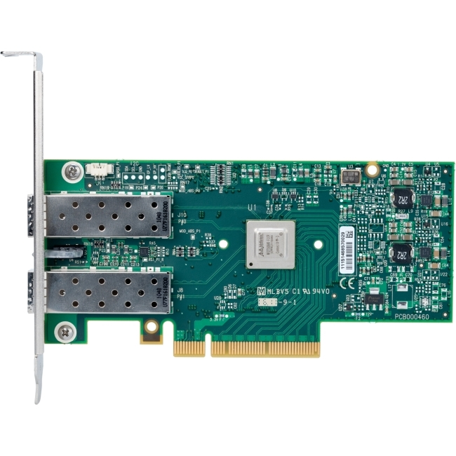Dell Mellanox ConnectX Dual Port 10GbE SFP NIC YHTD6 High Profile