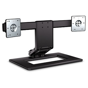 HP AW664UT Adjustable Dual Display Stand