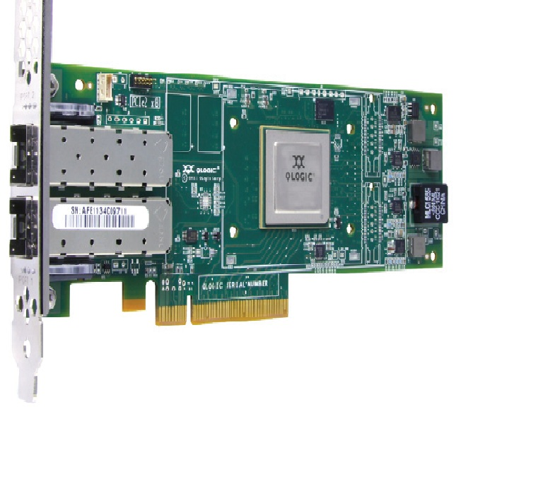 QLogic QLE2672-CK 16Gbps Dual Port Fibre Channel Host Bus Adapter