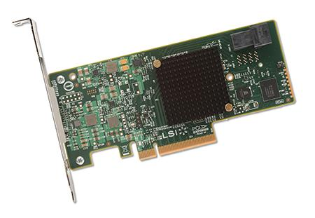 LSI LOGIC H5-25473-00 12Gb/s PCIe 3.0 SAS Host Bus Adapter