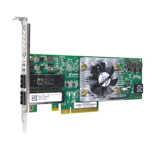 Dell 406-10713 QLE8262 10Gb 2-Port PCIe Converged Network Adapter