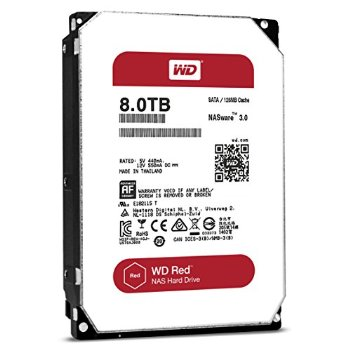 WD RED WD80EFZX 8TB SATA 6Gb/s 5.4k 3.5