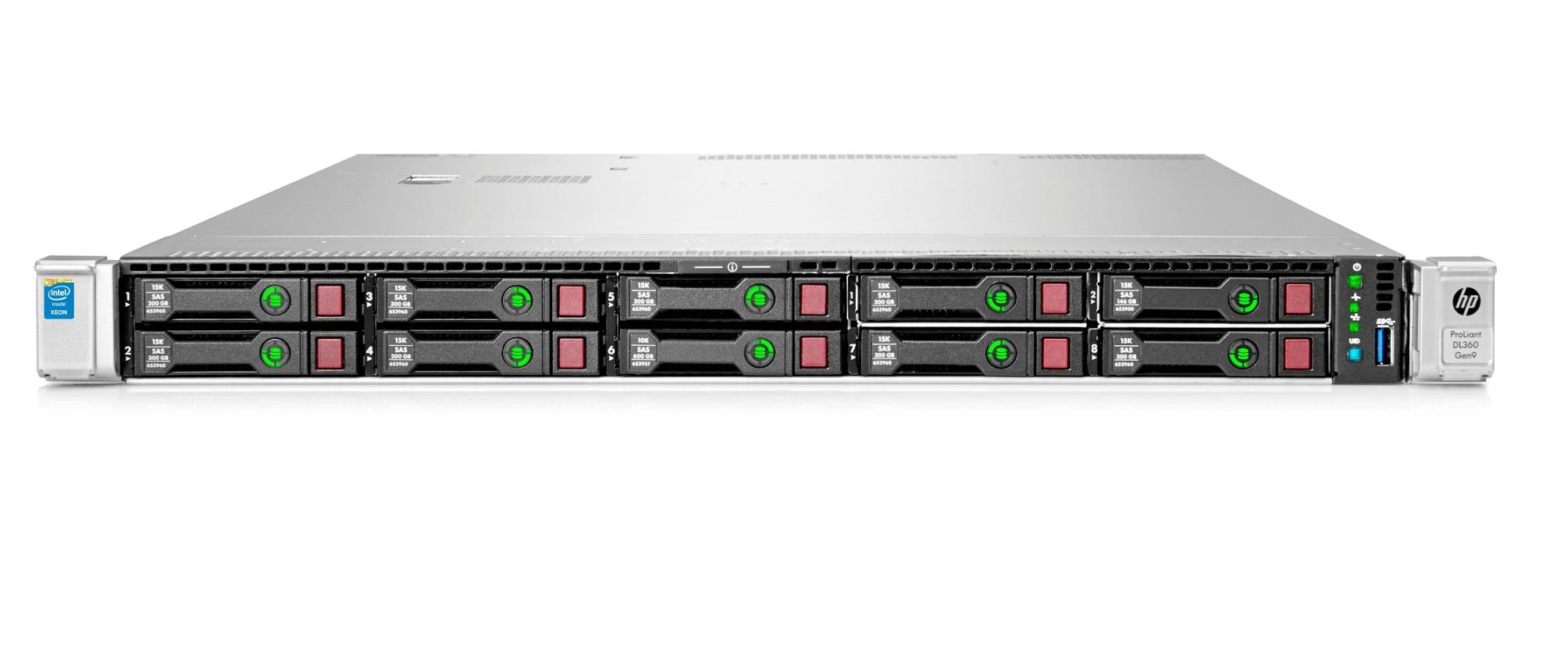 Hp 851937 B21 Proliant Dl360 Gen9 E5 2660v4 64gb Perf Server