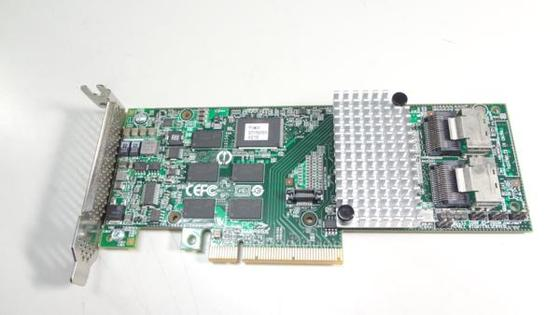 LSI Logic L3-25239-12B 4-port S6Gb/s SAS RAID Controller Card
