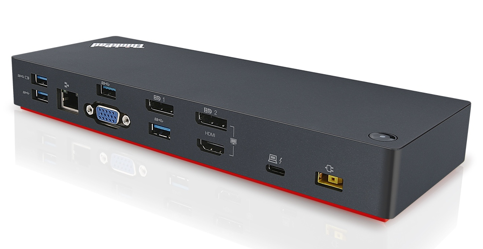 Lenovo 40AC0135US ThinkPad Thunderbolt 3 Dock Docking Stations