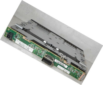 HP 875557-001 2SFF  1Port Drive Backplane W Cage For Proliant DL360 GEN10