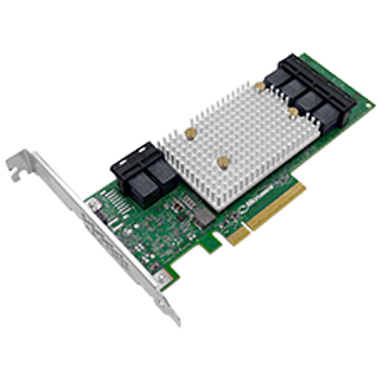 Adaptec 2301600-R Gbps PCIe 24-Port LP/MD2 Form Factor Smart HBA