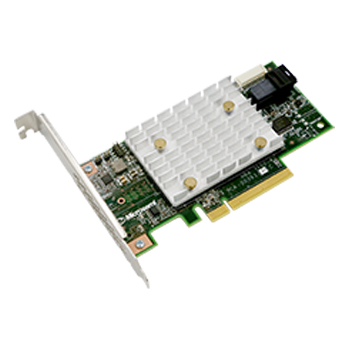 Adaptec 2293400-R 12 Gbps PCIe 4-Port LP/MD2 Form Factor HBA