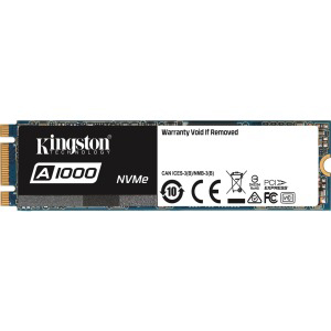KINGSTON SA1000M8/960G A1000 960GB PCIE NVME GEN 3 0 X 2 LANES M 2 2280  INTERNAL STAND ALONE SOLID STATE DRIVE  BRAND NEW  IN STOCK