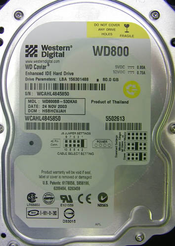 WD800BB