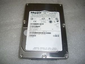 Maxtor 8J300J0 300GB 10k 8BM Buffer Ultra320 SCSI 80 Pin Hard Drive